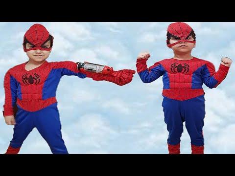 Örümcek adam Çınar Efe spiderman ağ...