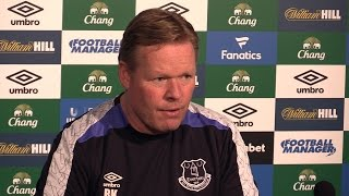 Ronald Koeman Full Pre-Match Press Conference - Everton V Burnley