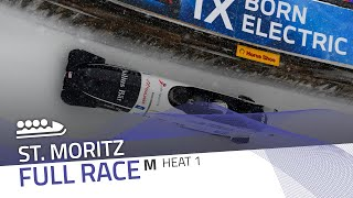 St. Moritz | BMW IBSF World Cup 2020/2021 - 4-Man Bobsleigh Heat 1 | IBSF Official