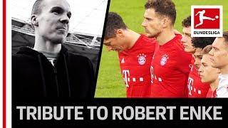 The Bundesliga s Emotional Tribute to Former Germany Goalkeeper Robert Enke