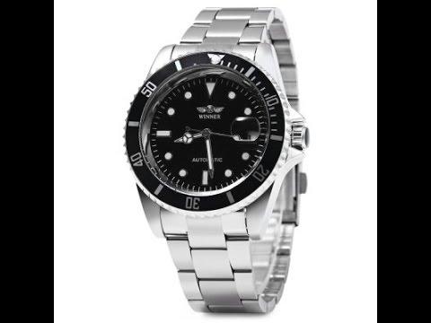 Winner W016 Automatic Uhr / Watch (Rolex Submariner Style ...