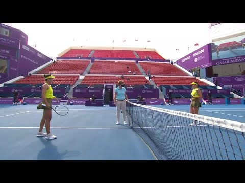 Q. Wang vs. J. Pegula | 2021 Doha Round 1 | WTA Match Highlights