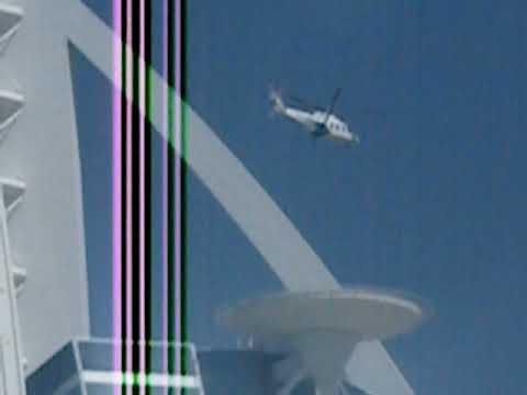 Helicopter Landing on top of Burj Al Arab Hotel   Dubai