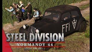 Demi-Brigade SAS Showcase! Steel Division: Normandy 44 Gameplay (Côte 112, 3v3)