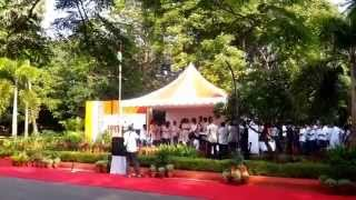MALAYALAM PATRIOTIC SONG @ IIT MADRAS- REPUBLIC DAY 2015
