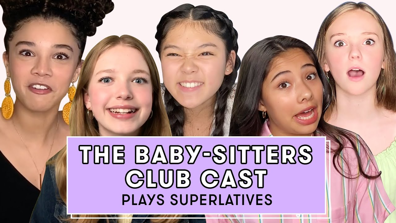 Netflix's The Baby-Sitters Club Cast Reveals Who's the Best Secret Keeper and More | Superlatives