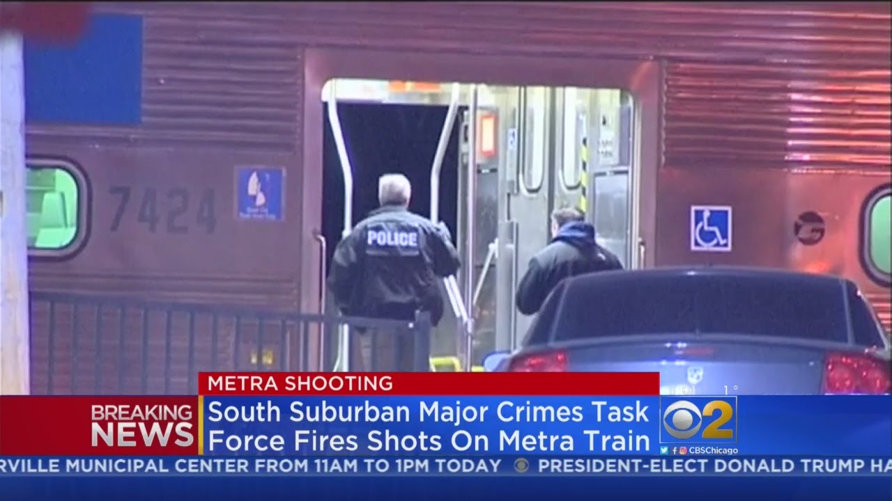 Shooting investigated near Naperville Metra station