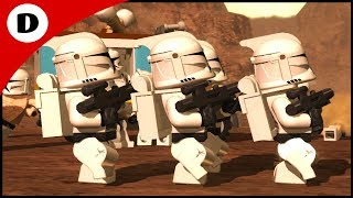CAPTAIN REX LEADS THE CLONE ARMY! - Lego Star Wars III: The Clone Wars 3