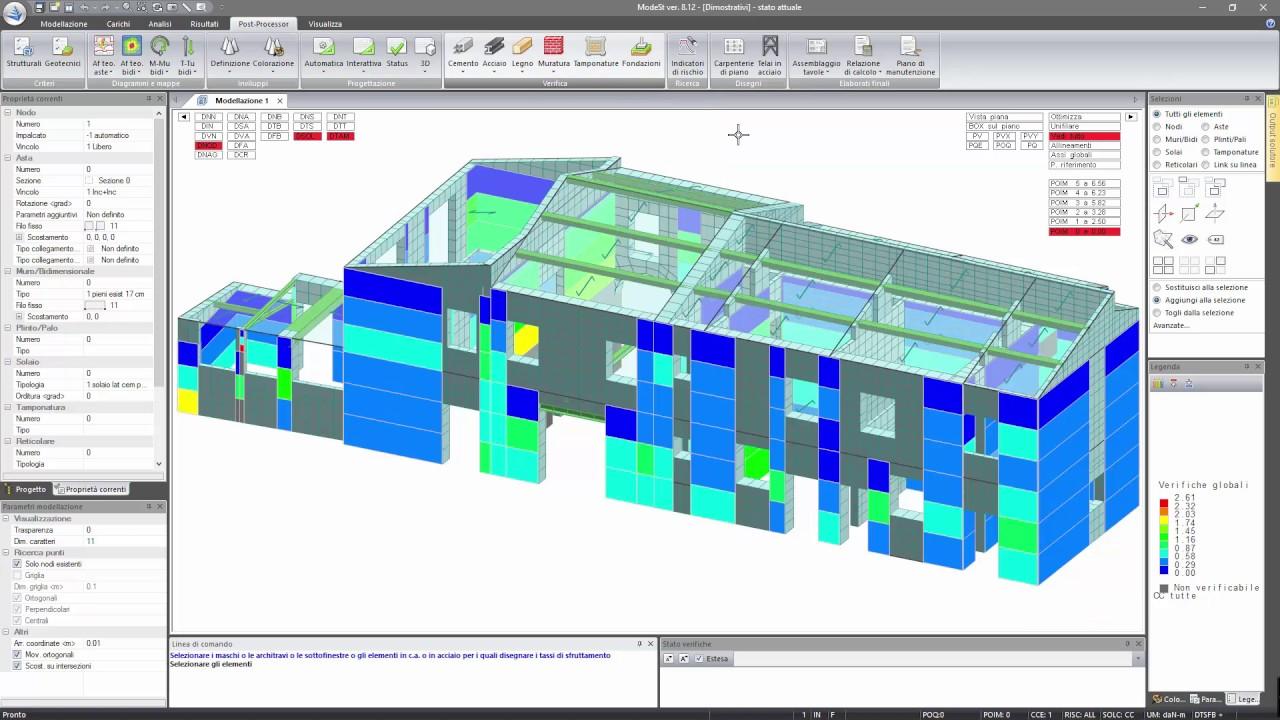 Arco In Muratura Calcolo.Modellazione Calcolo E Verifica Di Strutture In Muratura