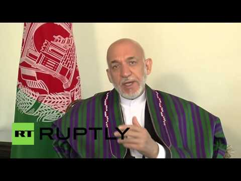 Russia: Former Afghan President Karzai criticises US intervention in Afghanistan