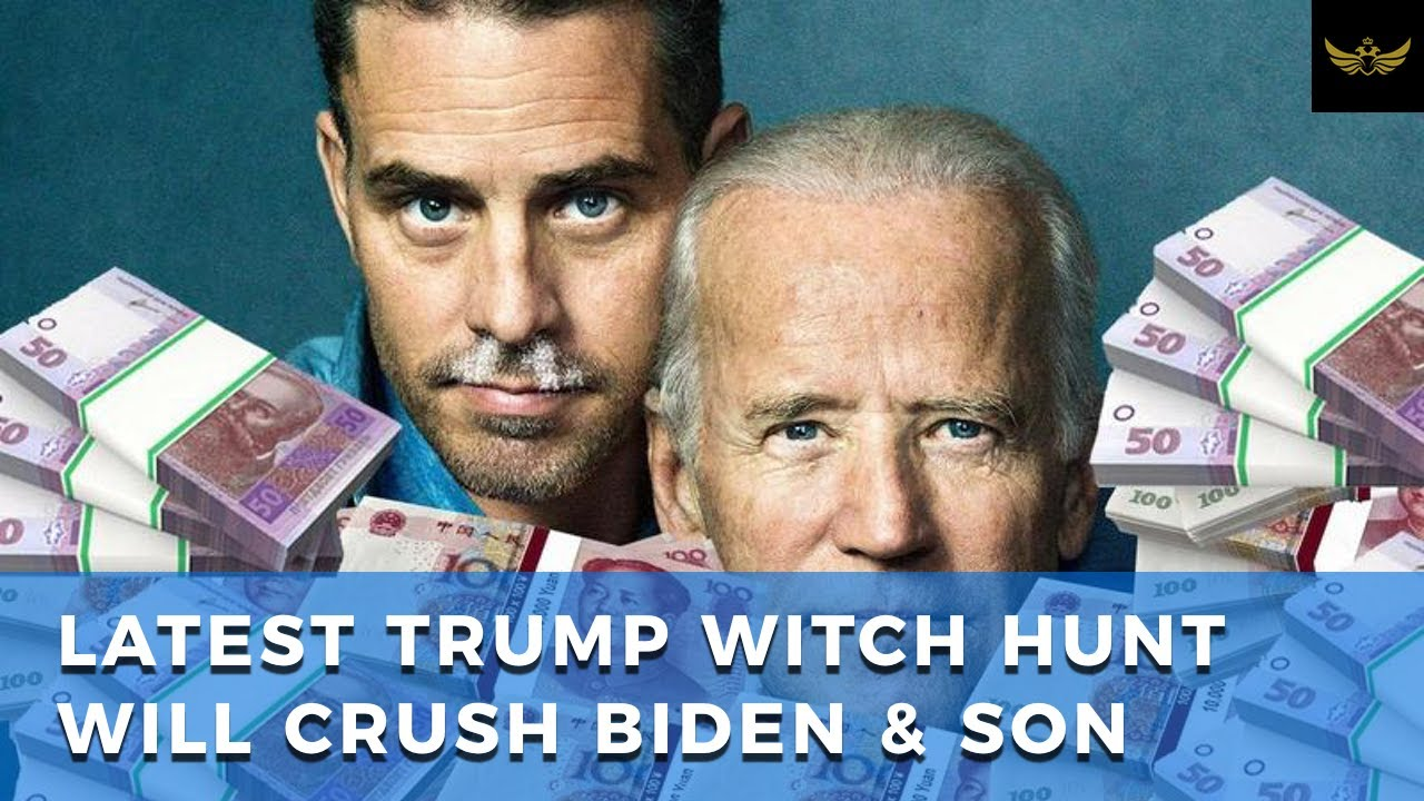 Latest Trump witch hunt involving Ukraine boomerangs towards Joe Biden