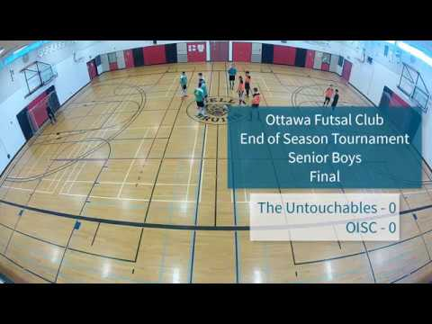 Final - Senior Boys - 2018 Ottawa Futsal Club - End-of-Year Tournament