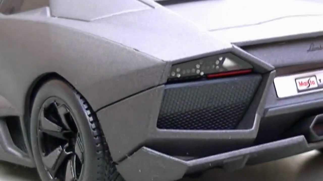 Rc Lamborghini Reventon Rc Lamborghini Aventador Youtube