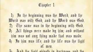 John 1 King James Authorized Version with text
