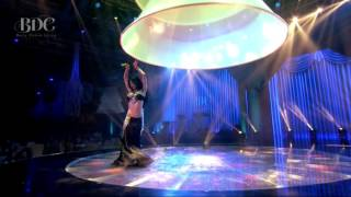 Alida Lin 林介文 dancing on BDC stage in DFU 2014