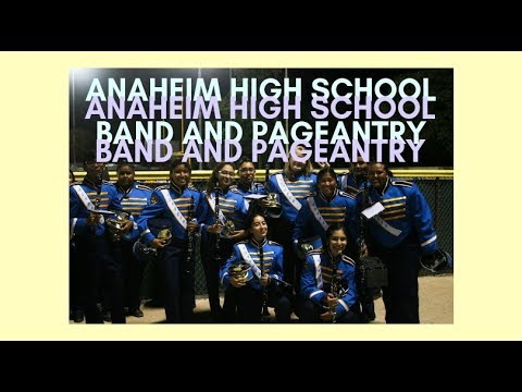 Anaheim High School Band and Pageantry First Performance (2018|2019)