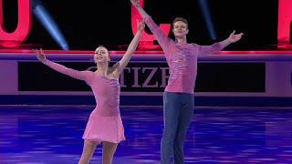 Александра Бойкова Дмитрий Козловский Показательные выступления Чемпионат мира по фигурному ката