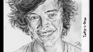 SPEED DRAWING: Harry Styles / One Direction