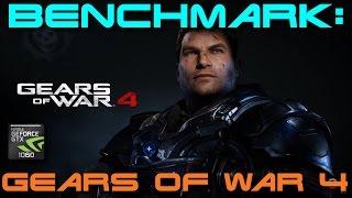 BENCHMARK: Gears of War 4 | GTX 1060 | Intel Core i7-3770