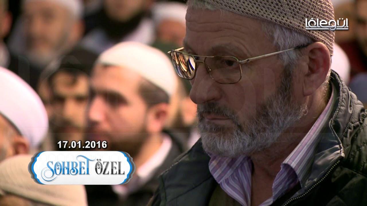 17 Ocak 2016 Tarihli Üsküdar Sohbeti - Cübbeli Ahmet Hoca Lâlegül TV