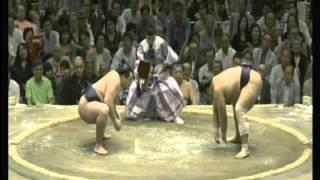 鶴竜 × 栃煌山 夏場所 9日目 2014/5/19 ハイライト 幕内 相撲 横綱 大...