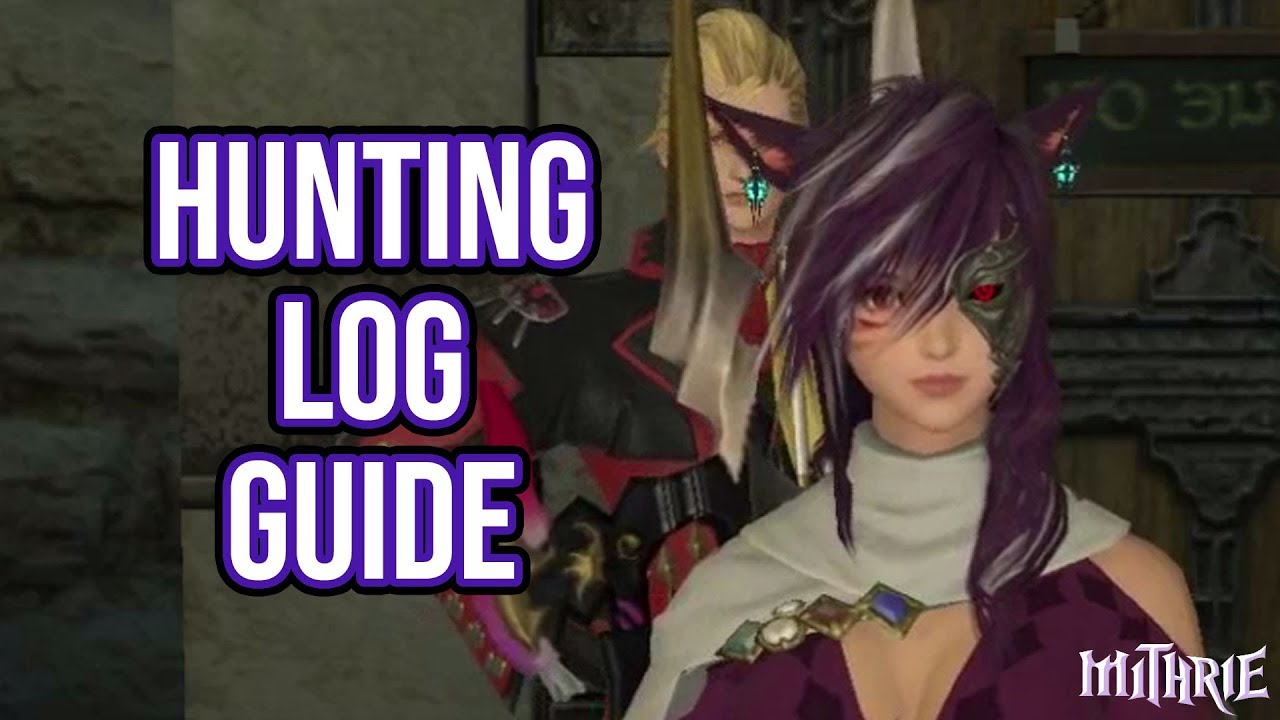 Ffxiv 2 0 0120 The Hunting Log 60 Sec Guide Youtube