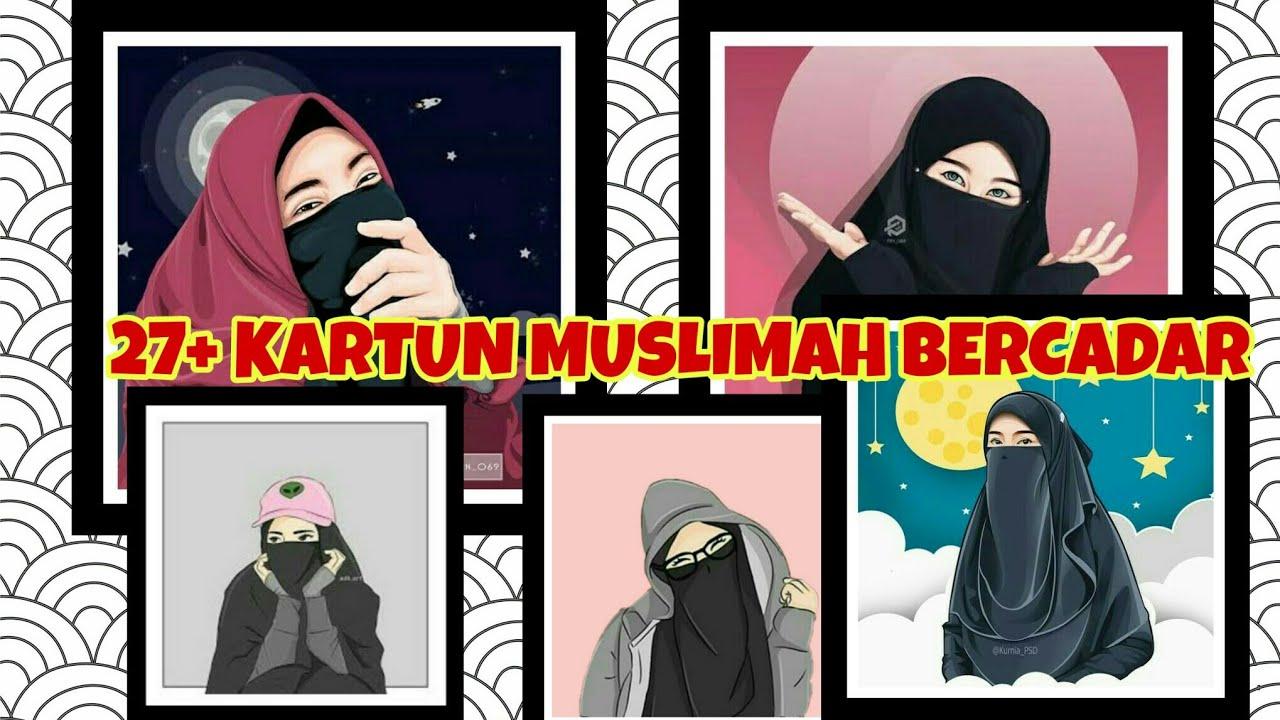 Kumpulan Gambar Kartun Muslimah Bercadar   music Jangan Salahkan ...