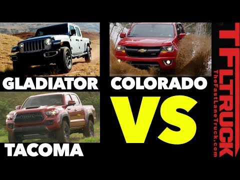 How Does the 2020 Jeep Gladiator Compare to the Toyota Tacoma & Chevy Colorado?