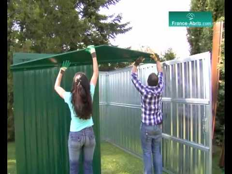 Video montage abris jardin france youtube - Abri de jardin montage ...