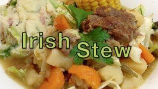 Traditional Irish Stew Pressure Cooker Video Recipe Cheekyricho