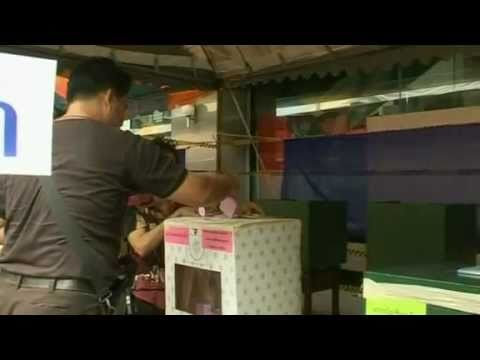 Thaksin party wins Thai election by a landslide