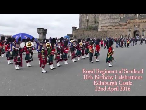 Royal Regiment of Scotland Pipe Band - Edinburgh Castle