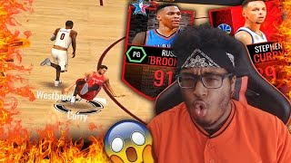 signature bundle pack opening westbrook broke curry ankles twice nba live mobile gameplay 2