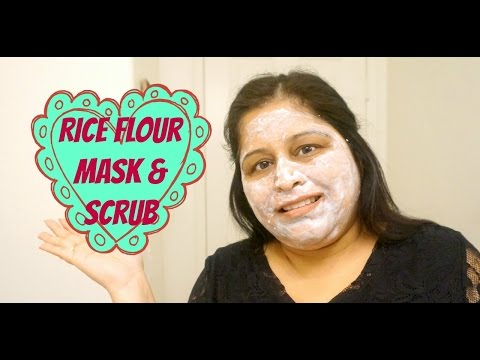 rice-flour-face-mask-&-scrub-|-demo
