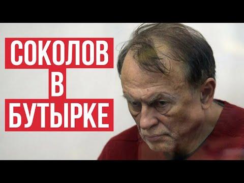 Стало известно об условиях содержания историка-расчленителя Соколова в Москве