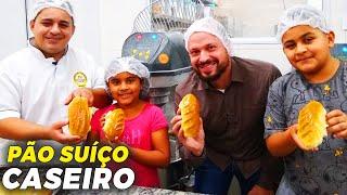 PÃO SUÍÇO - COMO FAZER NA SUA PRÓPRIA CASA! | Ewerton Santana