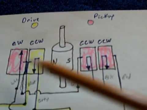 Circuit diagram for my Tiny motor--generator - YouTube