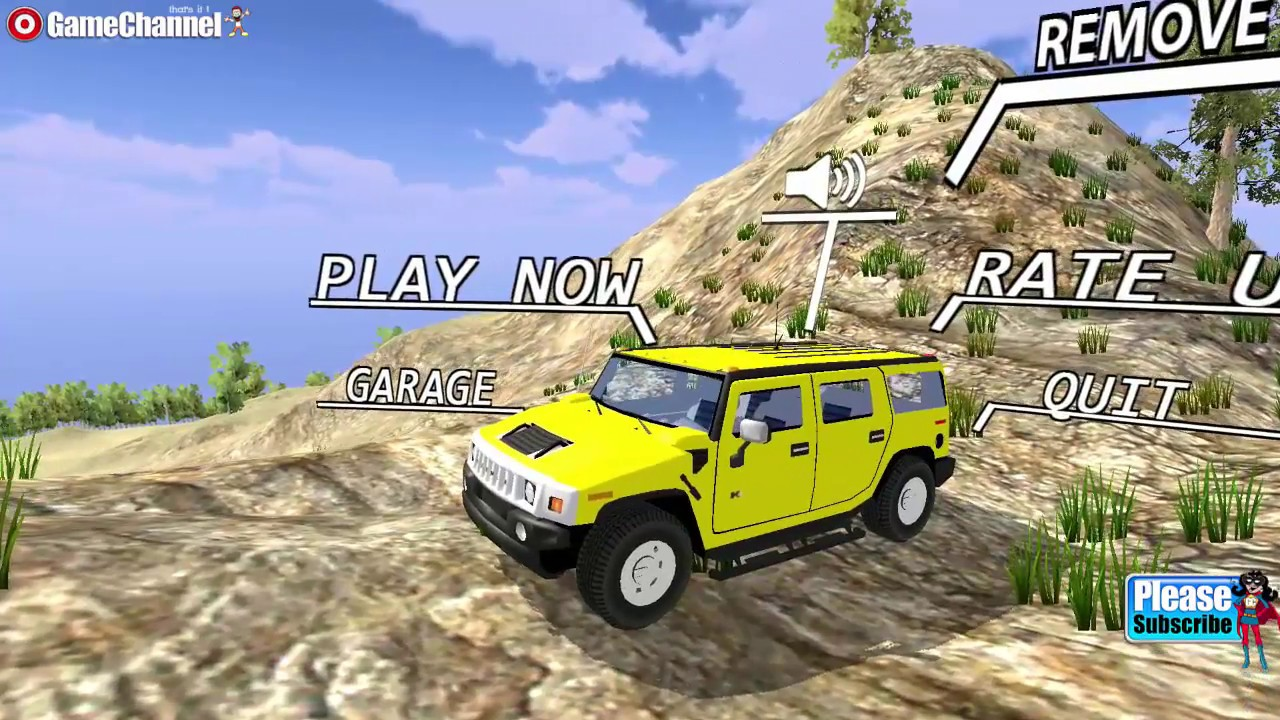 Offroad Hummer Driving 13d Game / Mountain Vehicles / Offroad Jeeps /  Android Gameplay Video | hummer off road video