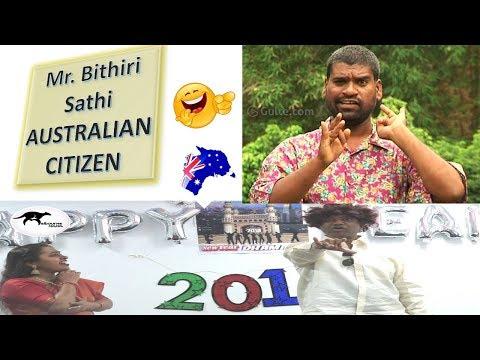 Bithiri Sathi  (Australian Citizen )