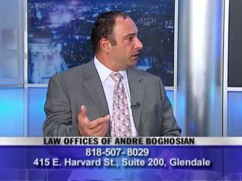 Los Angeles attorney Andre Boghosian speaks about Immigration Reform, May 2013