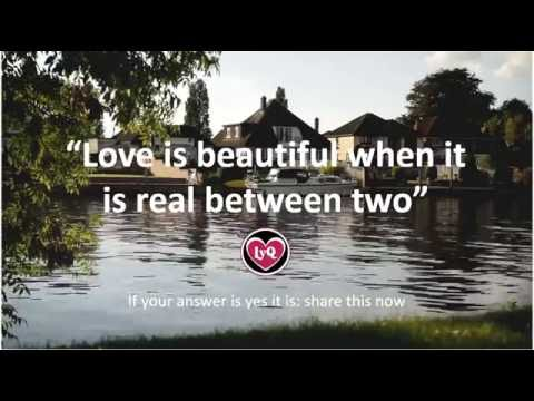 ♥ love quotes and sayings ♥ - love is beautiful!