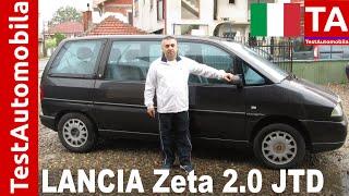 Lancia Zeta 2.0 JTD TEST