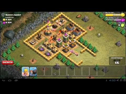Clash Of Clans Queen's Gambit Strategy Guide - Town Hall 5 - 3 Stars
