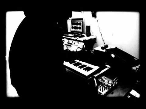 Burial For A God - Playing Death Industrial Music Live on Korg Radias and DroneLab