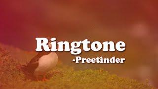 Ringtone - Preetinder | Lyric Video |