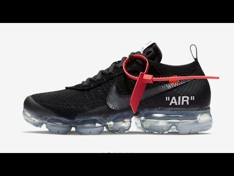 OFF WHITE x NIKE BLACK VAPORMAX Drop Today W or L!!! 3 30 2018