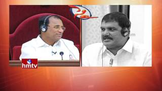 YS Jagan Vs Dhulipalla Narendra Kumar   War of Words   Outdated Politician   AP Assembly   HMTV