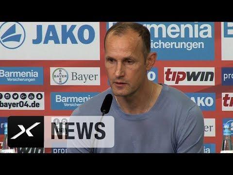 """Heiko Herrlich: """"Nach oben sind keine Grenzen gesetzt""""   Bayer 04 Leverkusen"""