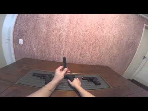 Pistolas Airsoft  Gbb ,Spring e elétrica: Qual a diferença? dicas e review