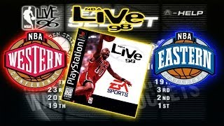 NBA Live 98 - (PS1) - West vs East | HD Gameplay Retro Live | Ep.3 Allstar Weekend